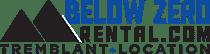 Below Zero Ski Rentals Logo